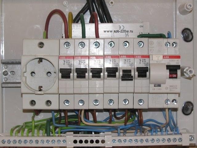 Электрика в квартире спб